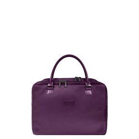 "Lipault Lady Plume Laptop Bailhandle 15.6"" FL in the color Purple."