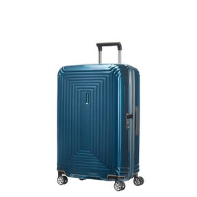Samsonite Neopulse Spinner Medium in the color Metallic Blue.