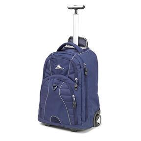 4fec46c05740 High Sierra Freewheel Wheeled Backpack in the color True Navy.