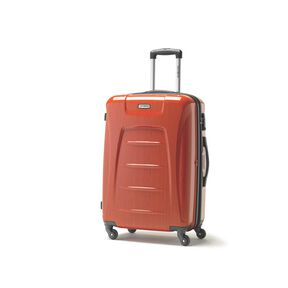 Samsonite Winfield 3 Fashion Spinner Medium in the color Orange Brushed.