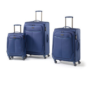 Samsonite Dura NXT Lite 3 Piece Set in the color Navy.