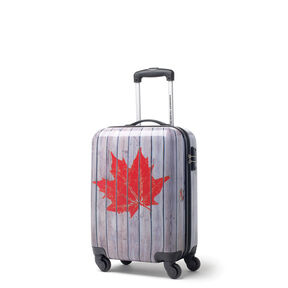 Canadian Tourister Collection Spinner Carry-On in the color Dock/Leaf Stamp.