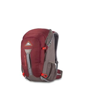 High Sierra Pathway 40L Pack in the color Cranberry/Slate/Redrock.