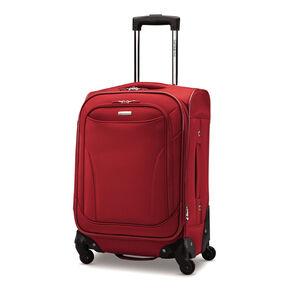 """Samsonite Bartlett 20"""" Spinner in the color Red."""