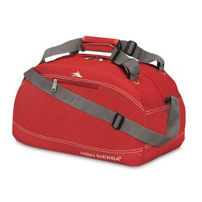 "High Sierra 20"" Pack-N-Go Duffel in the color Carmine Red."
