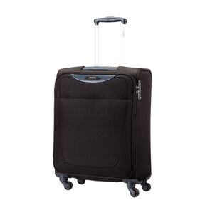 Samsonite Base Hits Spinner Carry-On Widebody in the color Black.