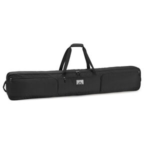 High Sierra 167cm Wheeled Double Ski/Snowboard Bag in the color Black.