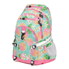 High Sierra Loop Backpack in the color Pineapple Party.