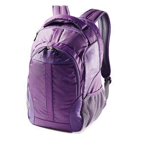 Samsonite Foxboro Backpack in the color Purple.