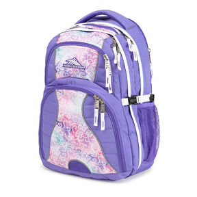 High Sierra Swerve Backpack in the color Delicate Lace/Lavender/White.