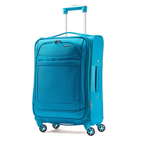 "American Tourister iLite Max 21"" Spinner in the color Light Blue."