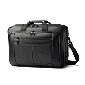 Samsonite Classic Business 3 Gusset Business Case in the color Black.