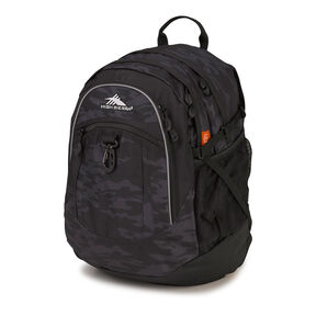 High Sierra Fat Boy Backpack in the color Stealth/Black.