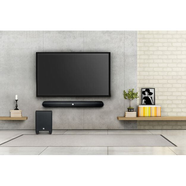 cinema sb250 barre de son home cinema de 200w avec. Black Bedroom Furniture Sets. Home Design Ideas