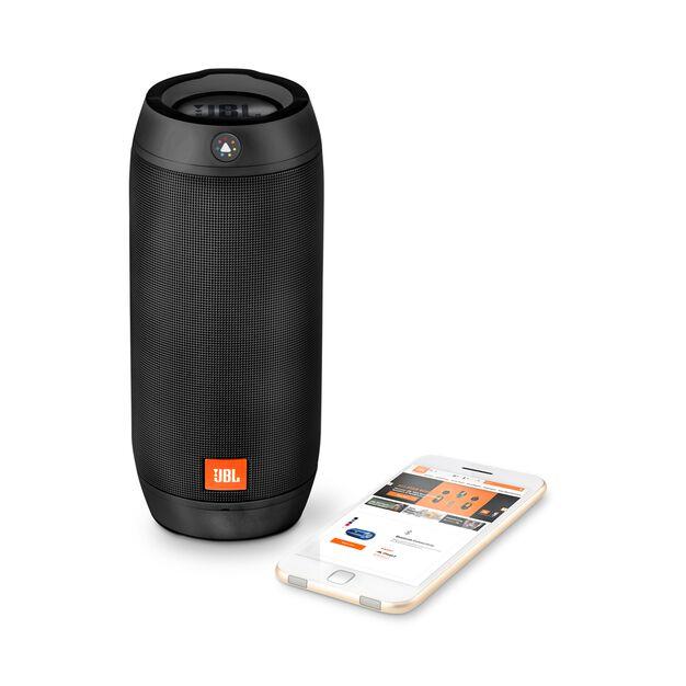 jbl pulse 2 enceinte portable splashproof avec jeu de lumi res interactif. Black Bedroom Furniture Sets. Home Design Ideas