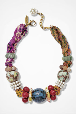 Icons Necklace by Lenora Dame, Multi, large