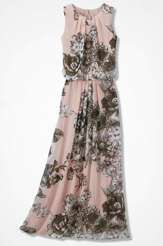 Blushing Blooms Maxi Dress, Petal Pink, large