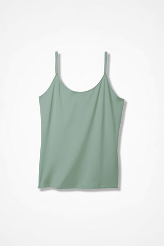 Essential Camisole, Agave Green, large