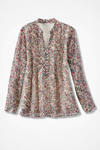 Charming Carnations Blouse, Multi, large