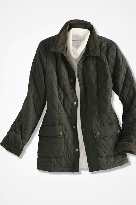 Quilted Barn Jacket Coldwater Creek