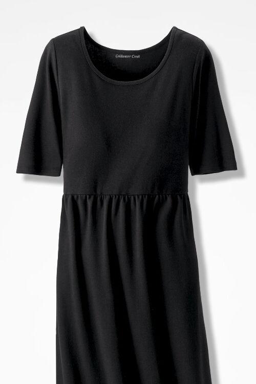Supima jersey maxi dress