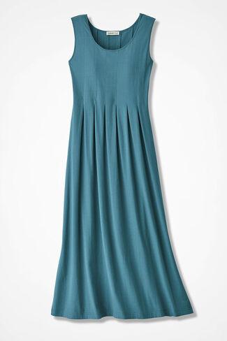 Walk-in-the-Park Tank Dress, Cerulean, large