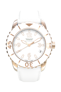 38mm Rose Gold 3-Hand