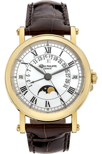 18K Yellow Gold Retrograde Perpetual Calendar Automatic Reference 5059