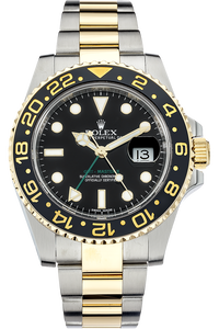 18K Yellow Gold and Stainless Steel GMT-Master II Automatic