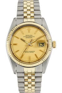 14K Yellow Gold and Stainless Steel Datejust Automatic Crica 1977