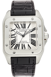 Santos 100 Anniversary Edition Stainless Steel Automatic