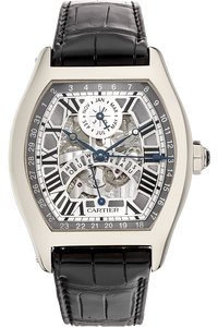 18K White Gold Tortue XL Perpetual Calendar Automatic