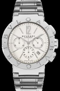 Stainless Steel Bvlgari-Bvlgari Chronograph Automatic