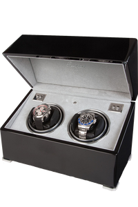 Perpetua II Ebony Duo Watch Winder