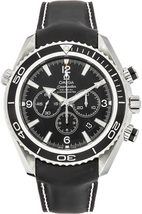 Stainless Steel Seamaster Planet Ocean Chronograph Automatic
