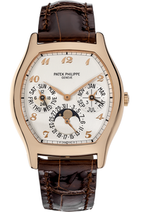 18K Rose Gold Perpetual Calendar Automatic Reference 5040
