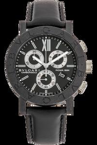 Carbon Bvlgari-Bvlgari Chronograph Quartz