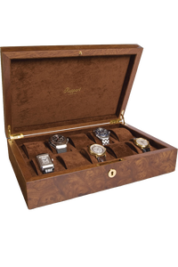 Brown 10 Watch Collector Box