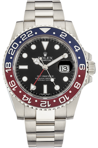 18K White Gold GMT Master II Automatic