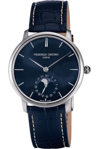 Manufacture Slimline Moonphase Automatic on Alligator Strap
