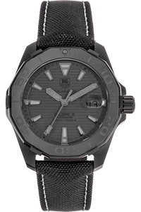 PVD Titanium Aquaracer Black Phantom Automatic