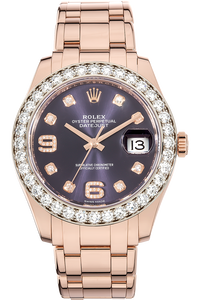 Pearlmaster Rose Gold Automatic
