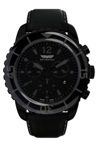 44 mm Chrono Black IP