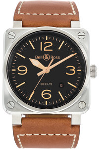 Stainless Steel BR 03-92 Golden Heritage Automatic