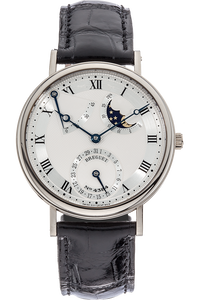 Classique Power Reserve Moon Phase White Gold Automatic