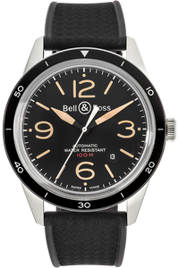 Stainless Steel BR 123 Sport Heritage Automatic