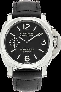 Stainless Steel Luminor Marina 8 Days Manual