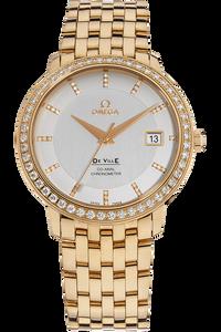 De Ville Prestige Co-Axial Rose Gold Automatic