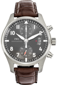 Stainless Steel Pilot's Spitfire Chronograph Automatic