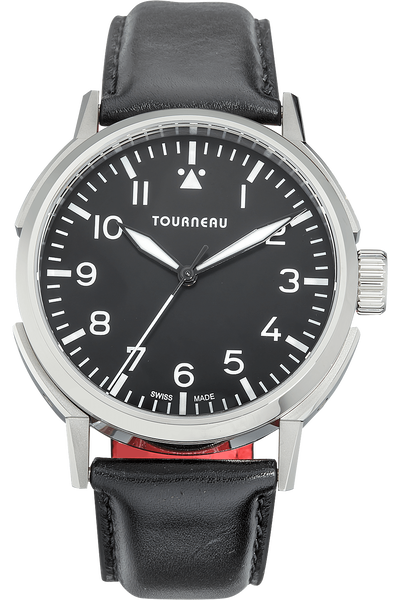 TNY 40 Aviator in Stainless Steel